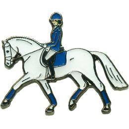 Pferde-Pin Dressur Trab
