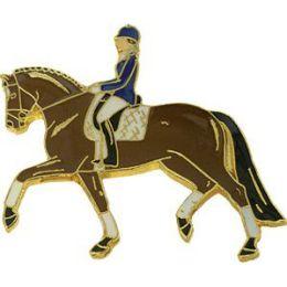 Pferde-Pin Dressurreiter