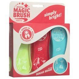 Pferdebürsten MagicBrush 3er-Set Sugar Shake