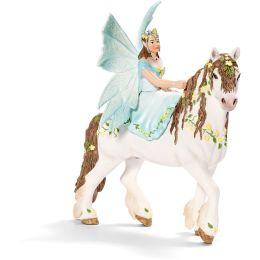 Schleich Elfe Eyela zu Pferd - Sammlerstück!