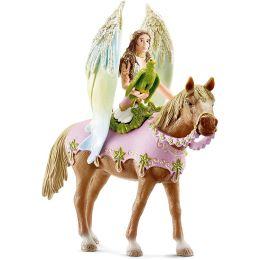 Schleich Elfe Surah zu Pferd - Sammlerstück!