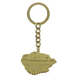 Schlüsselanhänger Bartagamenkopf