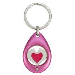 Schlüsselanhänger mit Einkaufschip Herzpferd
