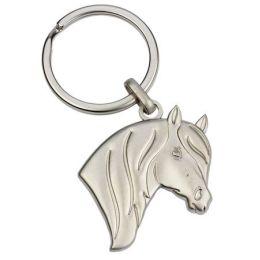 Schlüsselanhänger Pferdekopf 3D