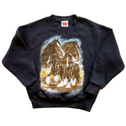 Sweatshirt Shire Horses, Gr. 110, 2. Wahl