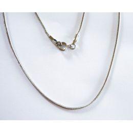 Schlangenkette Stahl, Stärke 1,5 mm