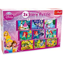 Disney Princess - Story Puzzle - 3 Story Puzzle