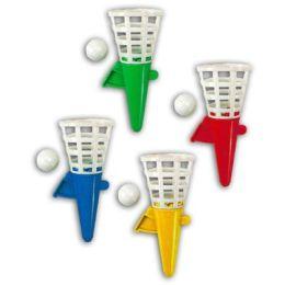 Fangbecher - Fangballspiel - ca. 12,5 cm - verschiedene Farben