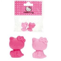 Hello Kitty Classic Radiergummi - 2 Stück - ca. 3 cm