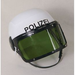 Helm - Polizeihelm für Kinder mit Klappvisier