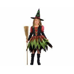 Hexe - Kinderkostüm Fetzenhexe mit Hut - Karneval Fasching