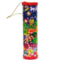 Kaleidoskop mit Weihnachtsmotiven - ca. 12 cm
