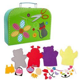 Koffer Nähset für Kinder - 67 Teile - Tiere nähen