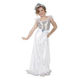 Kostüm - Kinderkostüm Prinzessin - ca. für 7-9 Jährige mit Kopfbedeckung