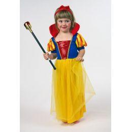 Märchenprinzessin - Kinderkostüm - Kleid mit Stehkragen - Prinzessin Gr. 98/104