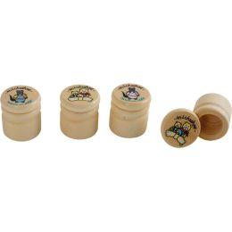 Milchzahndose - Holzdose - Erster Zahn mit Deckel