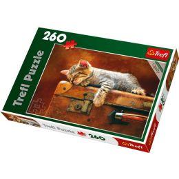 Puzzle Katzentraum - 260 Teile - Sweet Dream