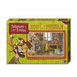 Puzzle Pettersson und Findus Werkstatt - 100 Teile  #606031351
