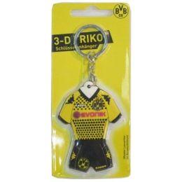 Schlüsselanhänger - Borussia Dortmund - 3D-Trikot - Lizenzware