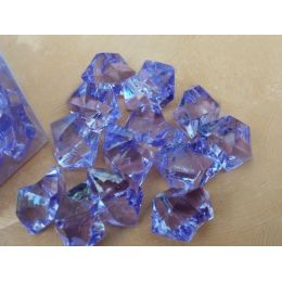 1 Box Deko Kristalle in Flieder