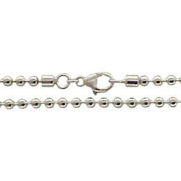 19 cm Kugelkette Armband - 4 mm 925 Silber
