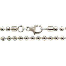 19 cm Kugelkette Armband - 4,5 mm - 925 Silber