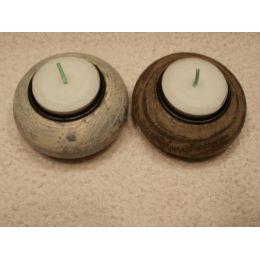 2 Teelichthalter Kugel