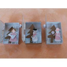 3 Metall-Boxen Weihnachten