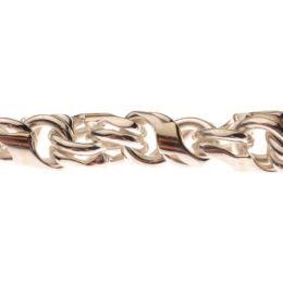 45 cm Andromeda-Kette – 4,5 mm Silber Halskette