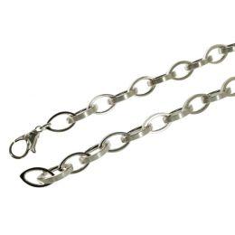 45 cm Spitzankerkette - 7,5 mm - 925 Silber Halskette