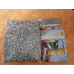 500 Gramm Dekogranulat fein Silber