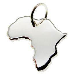 AFRIKA Kettenanhänger aus massiv 925 Silber