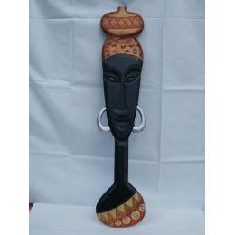 Afrikanische Frau Wanddekoration