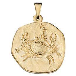 Anhänger Sternzeichen Krebs 333 Gold Gelbgold Sternzeichen Anhänger