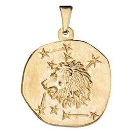 Anhänger Sternzeichen Löwe 333 Gold Gelbgold Sternzeichen Anhänger