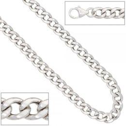 Armband 925 Silber rhodiniert 21 cm Karabiner