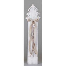 Deko-Ständer aus Holz mit einem Tannenbaum, 54 cm