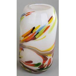 Deko-Vase aus Glas, multicolor, 30 cm