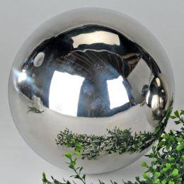 Dekokugel aus Edelstahl glänzend 9 cm