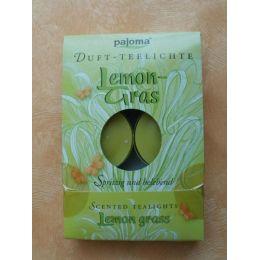 Duft-Teelichter Lemongras 6 Stück