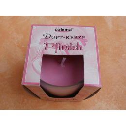 Duftkerze im Glas - Pfirsich