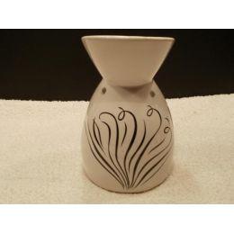 Duftlampe aus Keramik mit Dekor