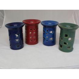 Duftlampe Torre aus Keramik