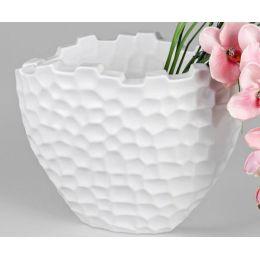 formano Blumenvase Murano ovael, weiß, 38 cm