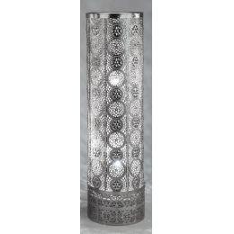 formano Bodenlampe in Capri Silber, 58 cm