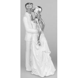 formano Deko-Objekt Brautpaar küssend, stehend, 29 cm