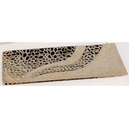formano Deko-Schale in Champagner aus Steingut, 31 cm