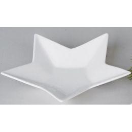 formano Deko-Schale in Sternform, weiß, 20 cm