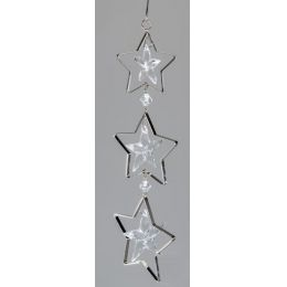 formano Dekohänger Stern, 3tlg. Acryl und Metall, 25 cm
