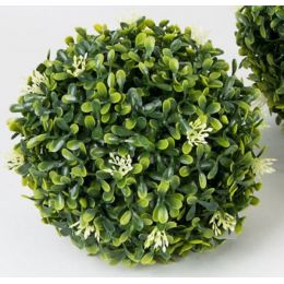 formano Dekokugel Buchsbaum in Grün aus Kunststoff, 16 cm